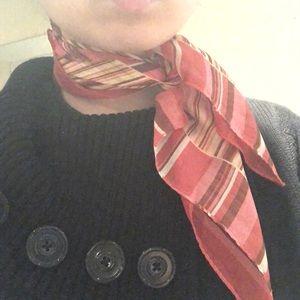 100% silk square scarf